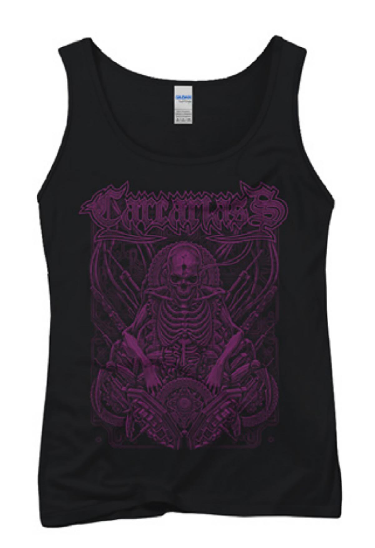 T-shirt girly purple